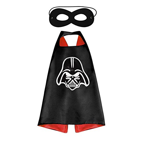 Athena Helmet Costume (Athena Dress Up Darth Vader Helmet Logo Cape and Mask Gift Box Included)
