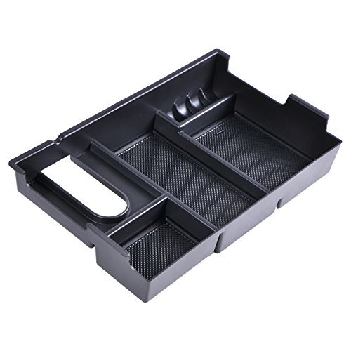 OMOTOR Center Console Insert Organizer Tray Armrest Box Glove Box Storage For Toyota (Toyota Tundra 2014-2018) -