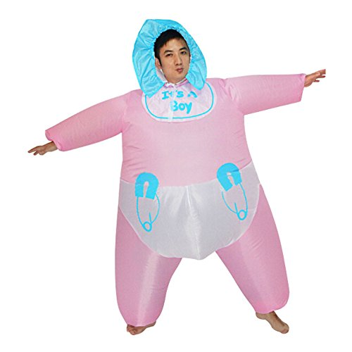 Adult inflatable Costume Infant Baby Fancy Dress Costume Party (Adults Baby Fancy Dress)