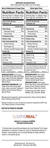 Flat Tummy Appetite Suppressant Lollipops | The Best All Natural Suckers, 4 Great Flavors + Apple, Grape, Watermelon & Berry + Suppress Cravings, The Perfect Low Calorie Diet Candy by Flat Tummy Co. (Image #8)