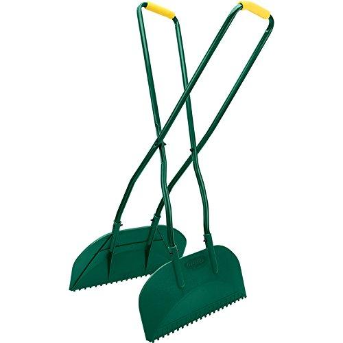 Draper Tools LG/HD Leaf Grabber, green with grey handles DRA82899