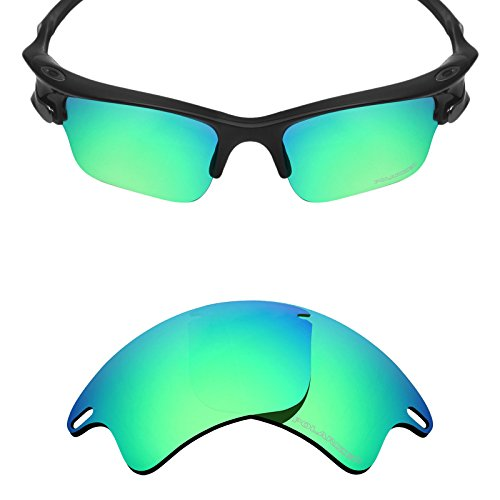 Mryok+ Polarized Replacement Lenses for Oakley Fast Jacket XL - Emerald - Jacket Polarized Fast Oakley Lenses