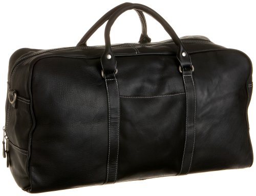Latico L0966 Heritage Cabin Duffel,Black,one size, Bags Central