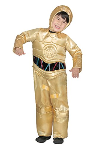 Princess Paradise Classic Star Wars Premium C-3Po Costume, Gold, Small -