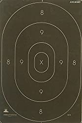 "B-27C Shooting Range Target Center Official Law Enforcement NRA Police Standard Silhouette 12 3/8"" x 18 1/2"" - 50 Pack"