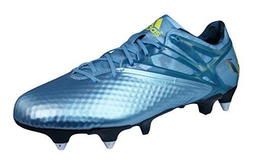 傷跡結果として奨学金adidas Messi 15.1 SG Mens Soccer Boots/Cleats -Blue-25.5
