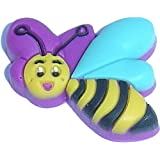Bee Shoe Snap Charm Jibbitz Croc Style