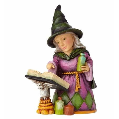 Enesco Jim Shore Heartwood Creek Mini Witch with Spell (Jim Shore Witch)