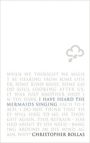 i hear the mermaids singing each to each