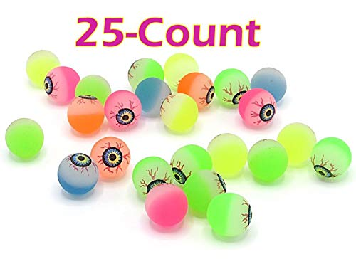 (Dazzling Toys Assorted Colors Mini 1 Inch Halloween Bouncing Balls Party Favor |)