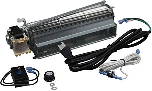 (VICOOL Standard Sized BLOT Replacement Fireplace Blower Fan KIT for Monessen, Hearth Systems, Martin, Majestic, Hunter)