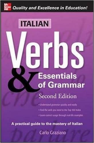 Descargar Con Torrents Italian Verbs & Essentials Of Grammar, 2e. PDF Gratis