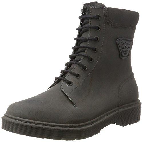 Armani Boot, Stivali Uomo Nero (Nero)
