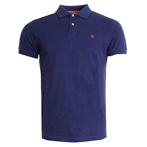 hackett-london-tailored-logo-mens-polo-shirt-ss17-xl-navy-red