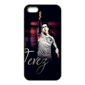 Soccer Barcelona Lionel Andr¡§|s Messi Football Club Classic Design Print Black Case With Hard Shell Cover for Apple iPhone 5/5S