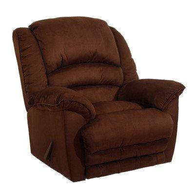 Catnapper Revolver Chaise Rocker Recliner Chair in Chocolate (Catnapper Recliner Rocker)