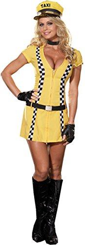 Tina Taxi Driver Adult (Tina Halloween Costume)