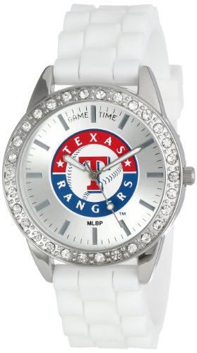 Game Time Women's MLB-FRO-TEX Frost Watch - Texas (Texas Rangers Watch)