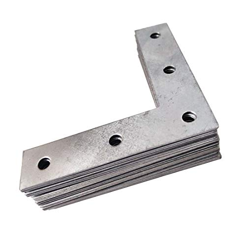 Sepuly 20Pcs Corner Brace Stainless Steel 3inch 90 Degree Right Angle Angle Bracket Heavy Duty (3 - 3 Inch Right Angle