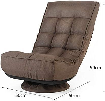 YXNN 360° Swivel Chair Outdoor Indoor Lounge Chair Back