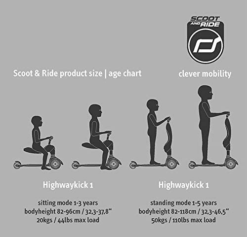 Scoot and Ride Highway Kick 1 Kiwi