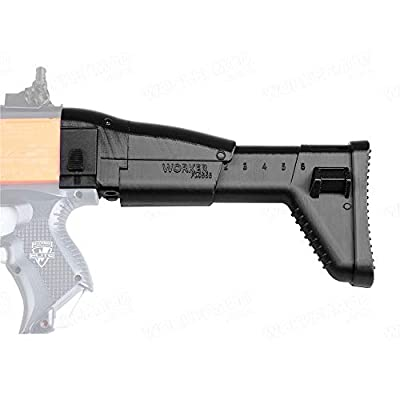 WORKER F10555 3D Printing No.152 Scar Stock for Nerf Stryfe: Toys & Games