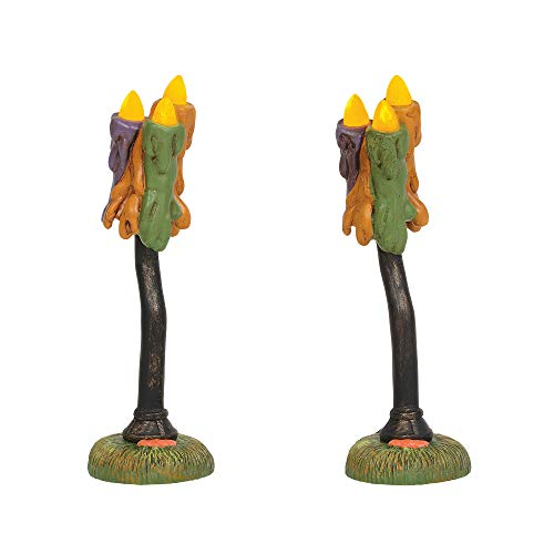 - Department 56 Accessories for Village Collections Halloween Wicked Wax Lamps Figurines, 4.25