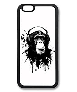 Andre-For Iphone 5C Phone Case Cover Cute Fancy Monkey Black Pattern Hard Back gyZukq0DgRk Fit for For Iphone 5C Phone Case Cover 6 Inch