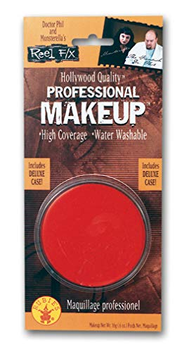 Devil Halloween Costumes Makeup (Rubie's Women's Reel FX Professional Red)