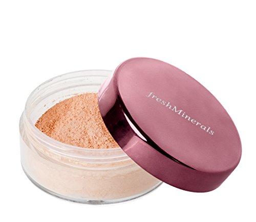 - freshMinerals Mineral Loose Powder Foundation, Light Beige, 11 Gram