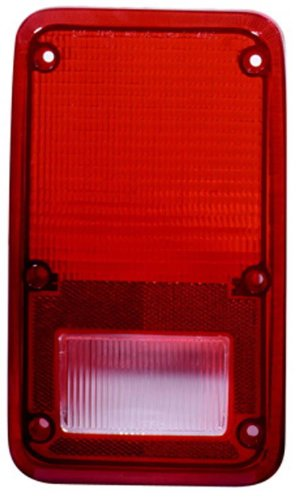 TYC 11-1436-02 Dodge/Plymouth Driver Side Replacement Tail Light Assembly (1985 Dodge Ram Van)