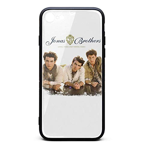 Phone Case for iPhone 6/6S Jonas-Brothers-Lines-Vines-Trying-Times- TPU Full Body Protection Best Anti-Scratch Fashionable Glossy Anti Slip Thin Shockproof Soft Case
