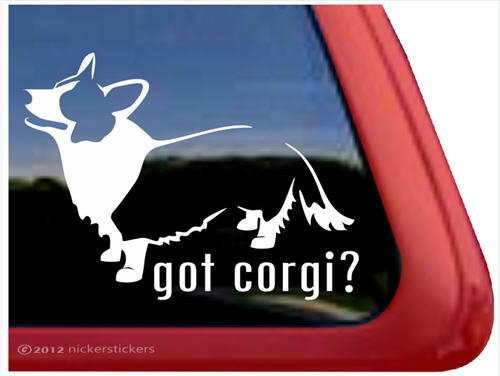 Corgi Cardigan Welsh Window Sticker