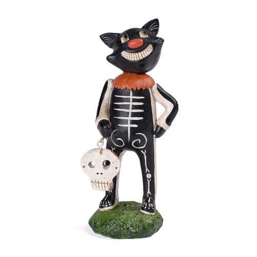 Collectible Halloween Costumes (Department 56 Pumpkinseeds Halloween Costume Cat Figurine, 6.3 inch)