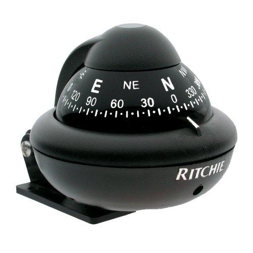 Ritchie Ritchiesport Compass - 1 - Ritchie X-10B-M RitchieSport Compass - Bracket Mount - Black
