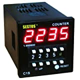 Sestos Coded Switch Digital Counter Industrial Register Omron Relay 100-240V C1S