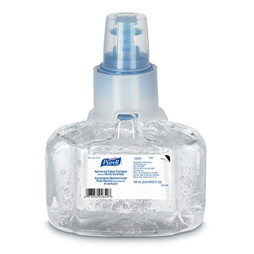 Purell 130303Ct Advanced Green Certified Instant Hand Sanitizer Refill Gel  700 Ml  Ltx7  Case Of 3