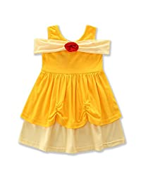 IBTOM CASTLE Girl Princess Snow White Mermaid Cosplay Costume Dress up Skirt