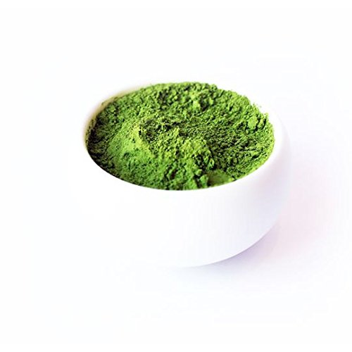 Organic Matcha Green Tea Powder by Enzo Full with Strong Milky Flavour, Easy to Dissolve in Hot Water. Perfect for Latte, Ice cream, waffles and baking