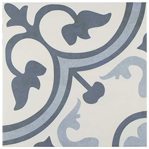 SomerTile FCG12AMA Canton Ceramic Floor and Wall Tile 12.38