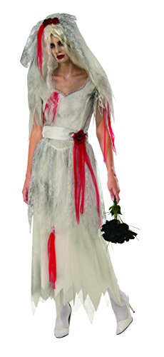 Rubie's Women's Ghost Bride, as Shown, Small
