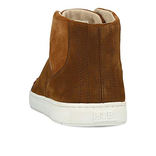HUB Murrayfield Shetland White Leather L47 Brown q6Fwa