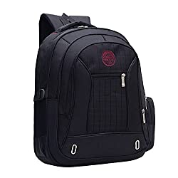 Laptop Backpack Swiss Plazio up to 15.6 Inch - Water Repellent Travel Laptop Backpack - Computer Bookbag - College Backpack for Men / Women - School Bag Lightweight