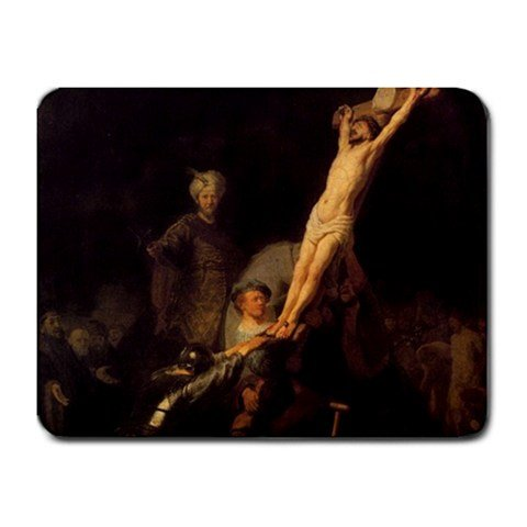 Hanging The Cross By Rembrandt Mouse Pad