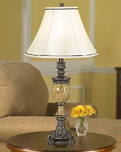 - Kathy Ireland's Westminster Faux Marble Urn Table Lamp