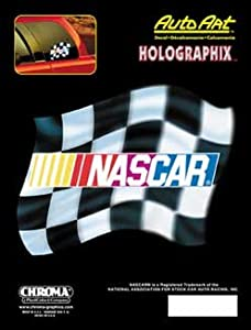 Amazoncom Chroma GraphicsInc Nascar Xholographic Decal - Decal graphics inc