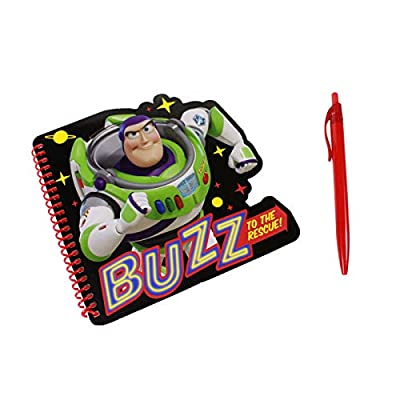 Toy Story 4 Buzz Lightyear Kids Notebook and Pen Set: Toys & Games