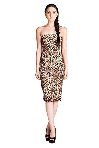 cheetah bodycon dress - 1