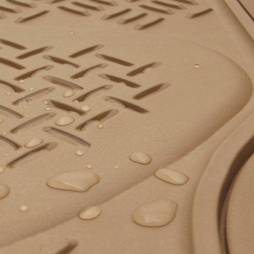 OxGord 1pc Diamond Floor Mat for Mercedes-Benz ML350, Beige