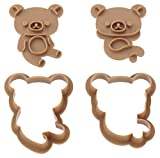 Cookie punching mold set Rilakkuma DN0202